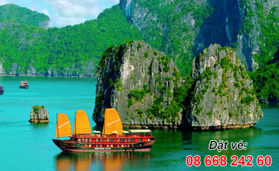 Ve may Bay Vinh Ha Long